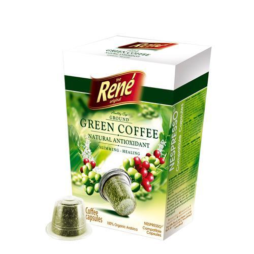 Καφές σε κάψουλες Rene Green Coffee 10 caps | Τσάι - Κάψουλες